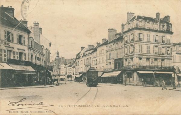 Entree de la Rue Grande