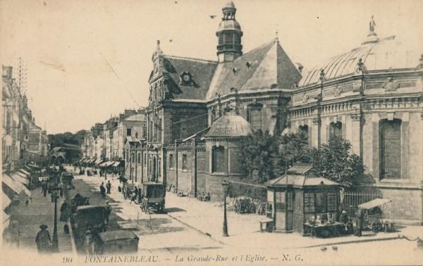 La Grande Rue et l'Eglise