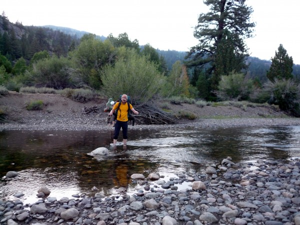 Crossing the West Walker River