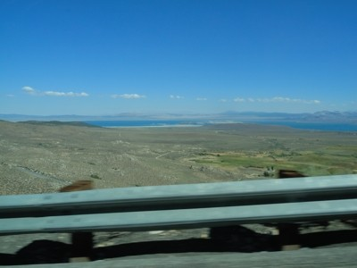 It was CLEAR in Mono Basin!!!!!  A relief.