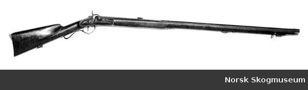 Daniel Tyskeberget's gun.