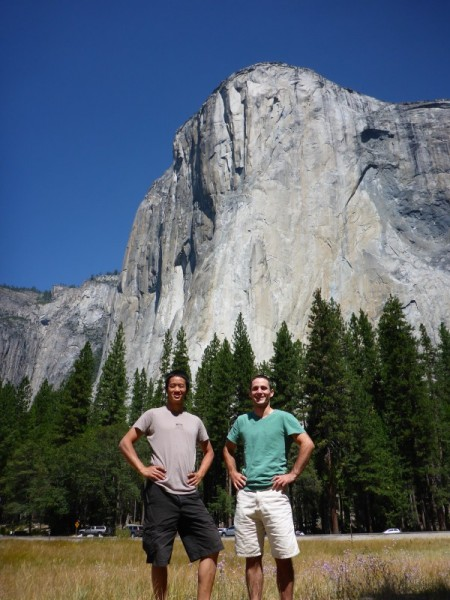 Classic shot of us in front of El Cap