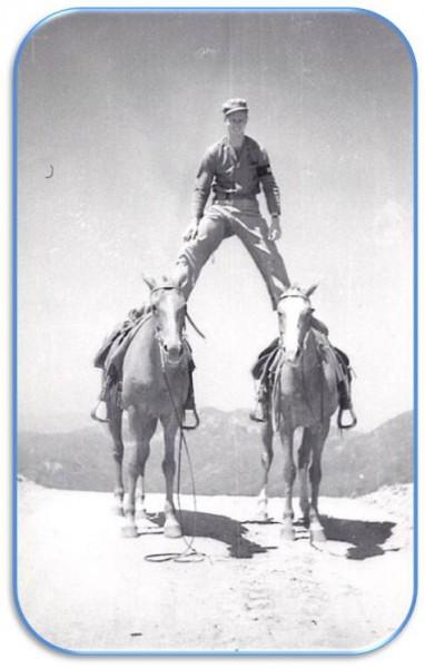 USMC Camp Pendelton game warden showing off