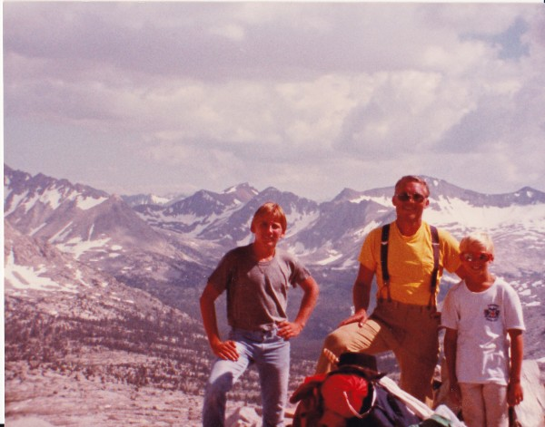 Mather Pass, August, 1982