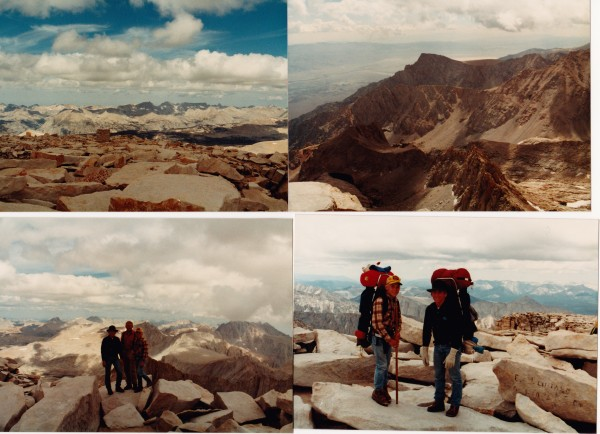 Mount Whitney, August, 1984
