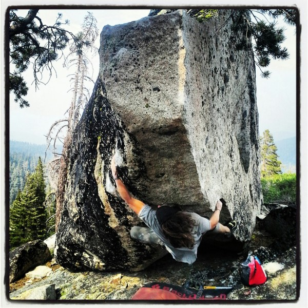 taster's choice bouldering session