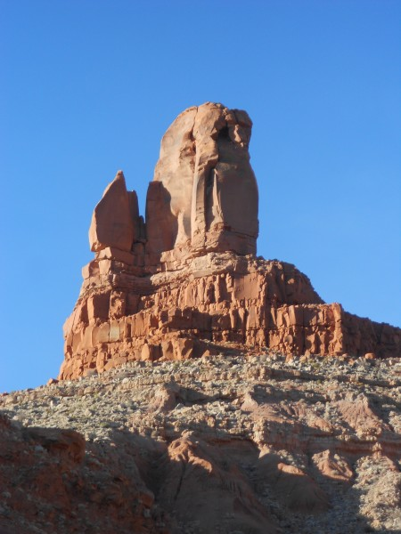 Owl Rock, off Hwy 163 N. of Kayenta