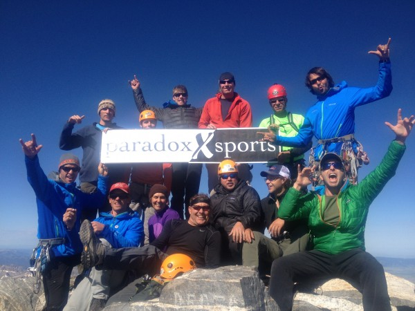 Summit of the Grand Teton  <br/>