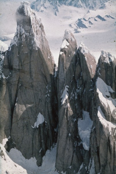 """Started on the """"Egger Maestri"""" route on CT...1000 ft. to the triangula..."""