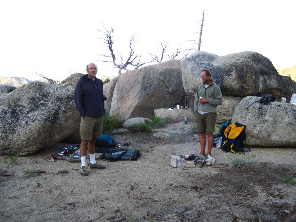 What was once one of the most beautiful campsites in the S Sierras. <br/>