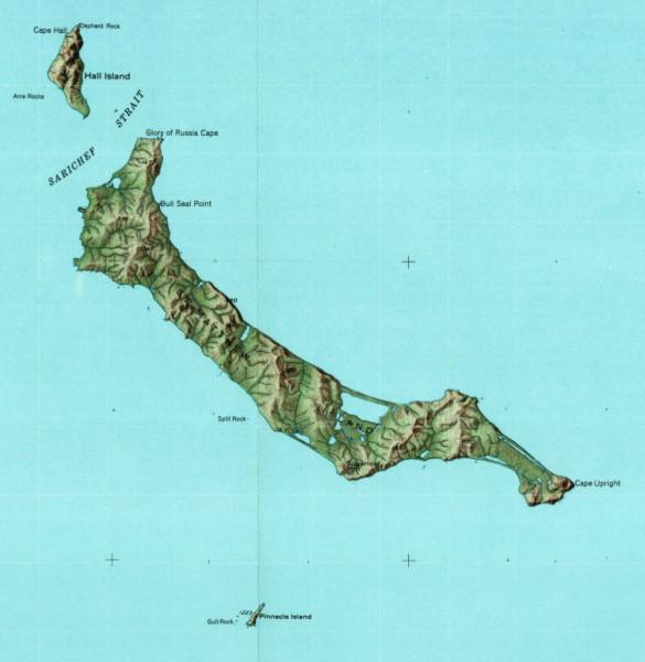 St. Matthew Island and Pinnacle Island