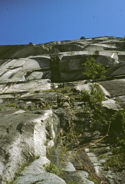 The Black Dyke, The Chief 5.9 A4 - one of my many FAILURES !! now rate...