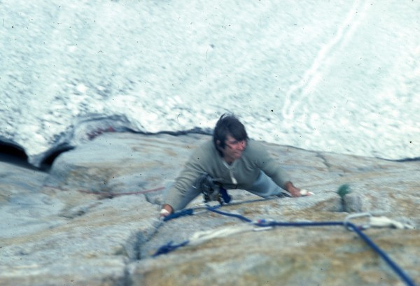 1981 -  bmacd's first Yosemite trip, Central Pillar of Frenzy
