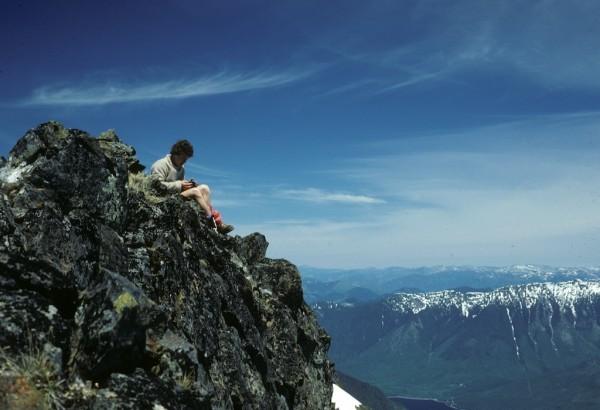 High, above Harrison Lake with Craig Thompson