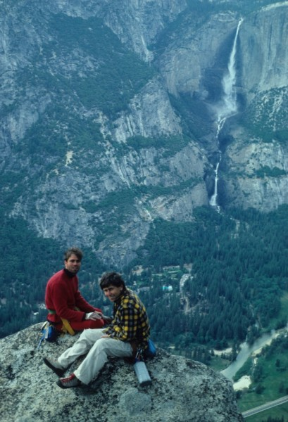 Dave Vernon and Ross Nichol - Summit of Steck Salathe - BITD