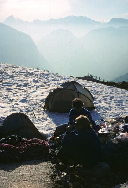 Early morning  in the Chehalis range, BC