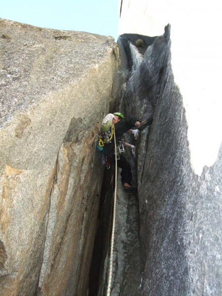 Mike got to lead pitch 3 of reeds direct.