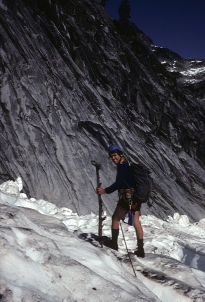 Eiger north face veteran, Ross Nichol - Mt Slesse BC