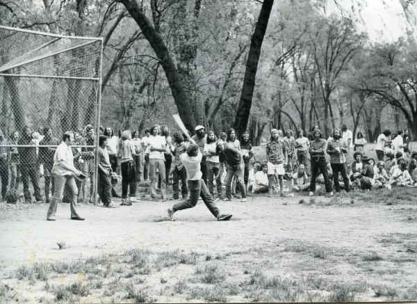Chuck Cochran, 1972, Camp  IV takes on the Rangers