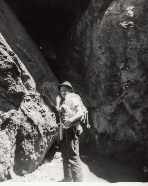 Guido below I-12, 1958