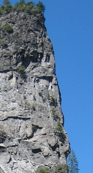 Lower Cathedral Rock - East Buttress - upper face