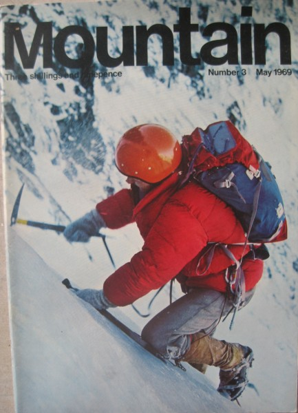 Mountain # 3 Cover, May, '69