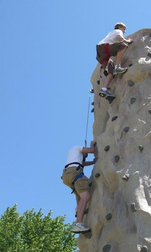tough route at NOLS camp