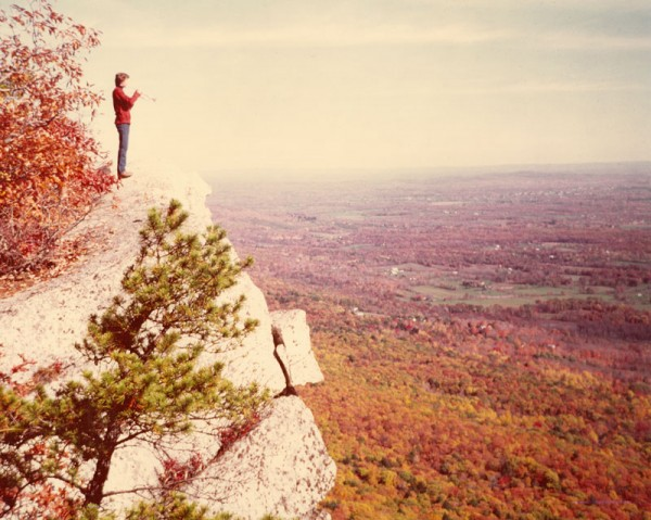 1980. Trumpet calls at The Gunks...