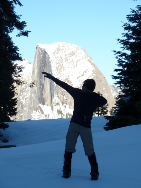 Glacier Point, Yosemite. Skiied from Badger Pass, 1/29-31/2010. Scott.
