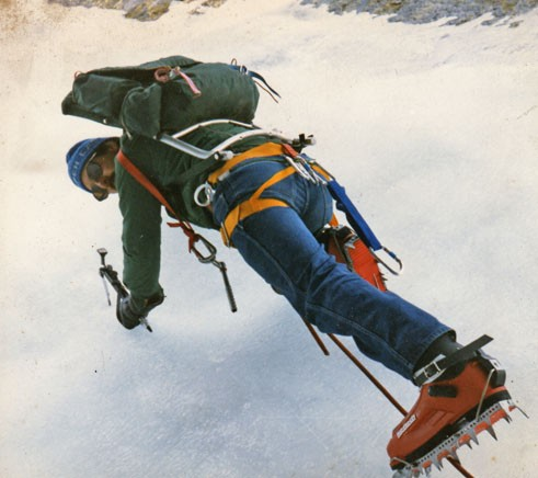 Nick Goldsmith,Pinnacle Gully 1983