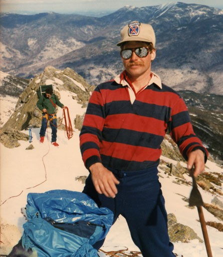 nkgphoto.com(C)1983 Jud Thurston and Nick Goldsmith, Top of Pinnacle 1...