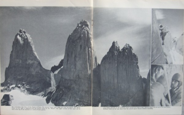 The Towers of Paine, PP. 34-35 of Mountain Craft #81.