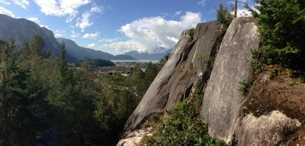 Cowper crag, back when the park was open.