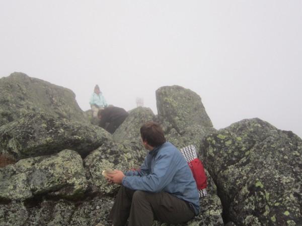 Summit of Mt Adams, the longest elevation gain is behind us now