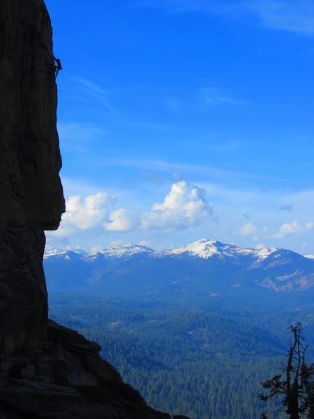 Miranda hiking va va va voom arete, 5.11++ <br/> high eagle