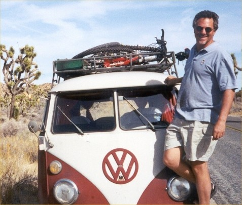 Me and my 67 VW bus at JT.