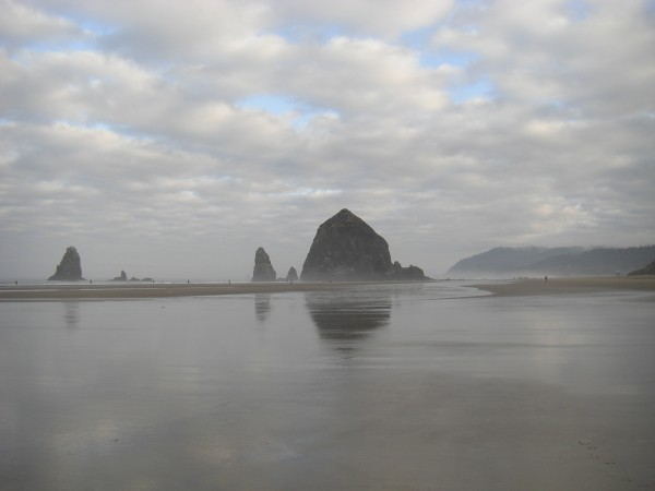 Haystack Rock, just off of Cannon Beach, Oregon