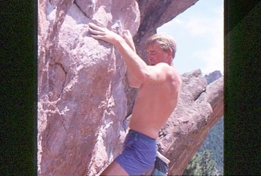 """Monkey Traverse"" Flagstaff Mountain, Boulder, Co."