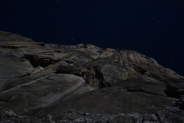 The Heart of El Capitan under the stars.