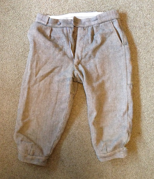 Wool Clarke's craghoppers knickers, size 28 or 30 waist
