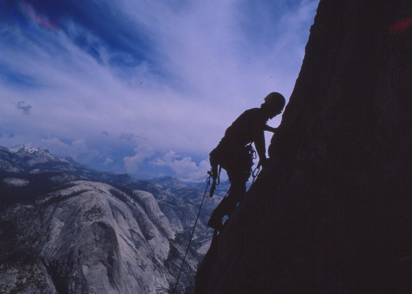 last pitches of direct half dome