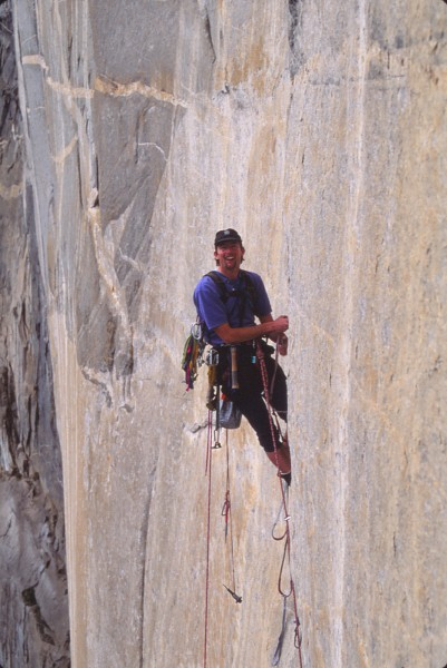dave bengsten on first ascent of kaos