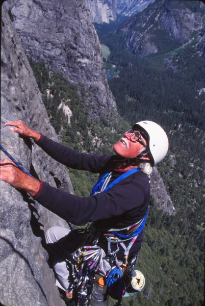steck free climbing on east buttress of el cap.