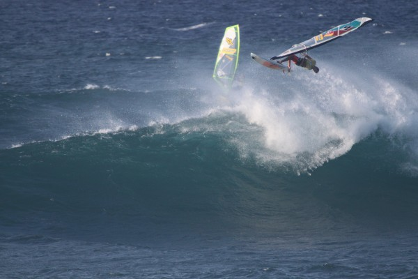 Levi Siver at Hookipa 10-28-13 <br/> Photo: Olaf Mitchell