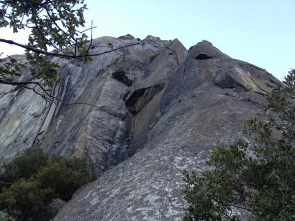 Base of EB El Cap