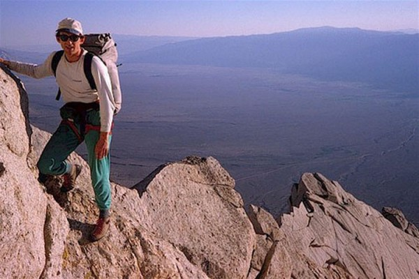 NE Ridge Lone Pine Peak, High Sierra, 1983. Photo: Miguel Carmona