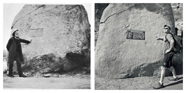 John Muir (L), circa 1892, John Long (R) circa 2012