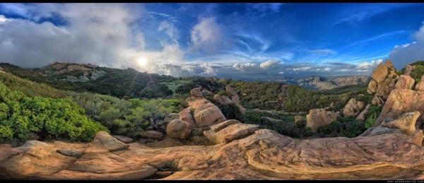 Photo credit: Brandon Riza.  Top of Saddle Peak