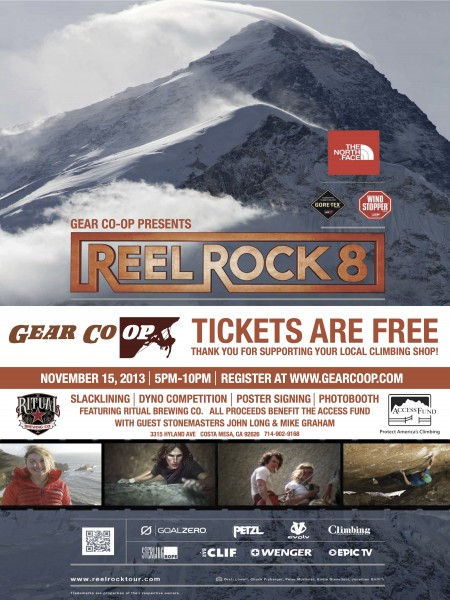 Reel Rock 8 @ Gear Co-op