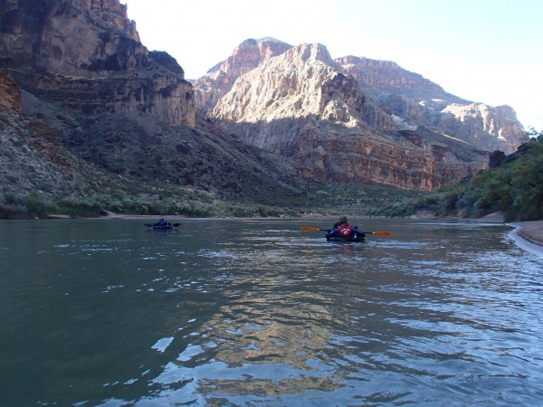 Little Boat, Big Canyon